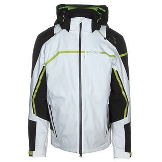 SPYDER TITAN GOREXTEX MENS JACKET - WHITE - 2XL