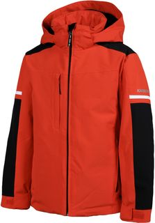 KARBON KIDS JACKET EXHAUST, FIRE RED
