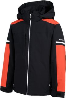 KARBON KIDS JACKET EXHAUST, BLACK