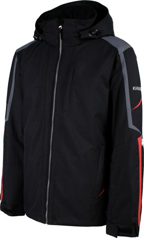 KARBON MENS JACKET SATURN, BLACK