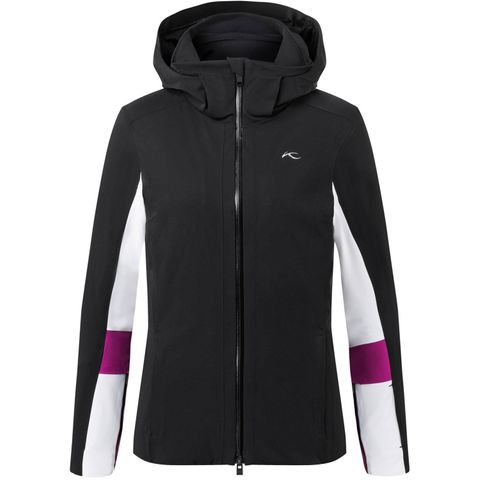 KJUS LAINA LADIES JACKET -BLACK/WHITE - 36/S