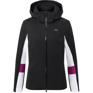 KJUS LAINA LADIES JACKET -BLACK/WHITE - 42/XL