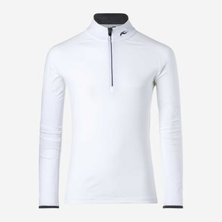 KJUS FEEL HZ MENS SKIVVY - WHITE