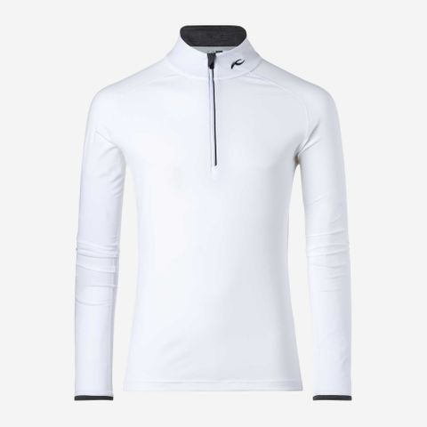 KJUS FEEL HZ MENS SKIVVY - WHITE - 50/M