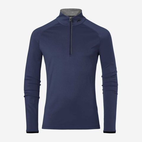 KJUS FEEL HZ MENS SKIVVY - ATLANTA BLUE - 48/S