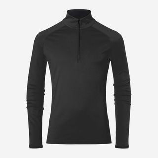 KJUS FEEL HZ MENS SKIVVY - BLACK