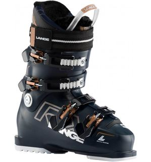 LANGE RX  90 W WOMENS BOOT, BLACK BLUE/COPPER, 25.5