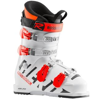 ROSSIGNOL HERO JR 65 ('19) KIDS SKI BOOTS - WHITE - SIZE 23.5