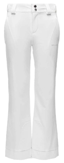 SPYDER OLYMPIA TAILORED KIDS PANTS, WHITE, 16