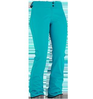 EIDER BACQUEIRA WOMENS PANTS - COCKATOO BLUE - SIZE 12