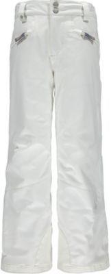 SPYDER VIXEN ATHLETIC GIRLS PANTS - WHITE - SIZE 10