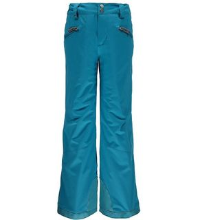 SPYDER VIXEN ATHLETIC GIRLS PANTS - BLUEBIRD - SIZE 16