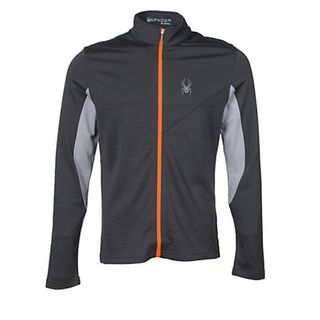 SPYDER EIGER WOOL MENS TOP - POLAR - SIZE M