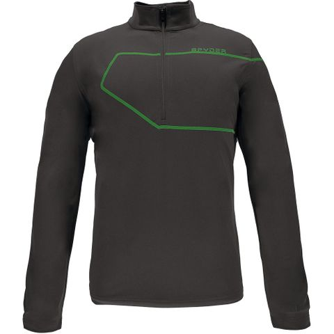 SPYDER COMMANDER MENS TOP - POLAR/BLADE - SIZE S