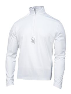 SPYDER SILVER DIP MENS TOP - WHITE - SIZE 2XL