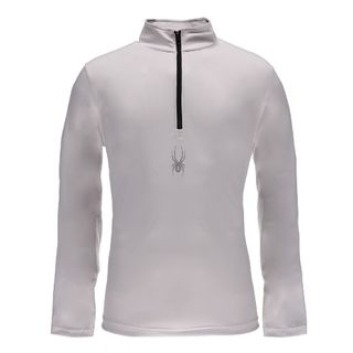SPYDER SILVER DIP MENS TOP - WHITE/BLACK - SIZE L