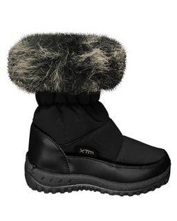 XTM KISA KIDS APRES BOOTS - BLACK- SIZE 31/32