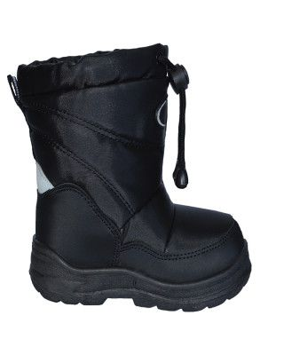 XTM PUDDLES KIDS APRES BOOTS - BLACK - SIZE 25/26