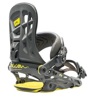 ROME 390 BOSS 2017 MENS SNOWBOARD BINDINGS - GUNMETAL