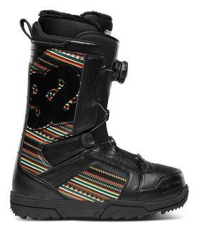THIRTYTWO STW BOA WOMENS SNOWBOARD BOOTS - BLACK/PRINT