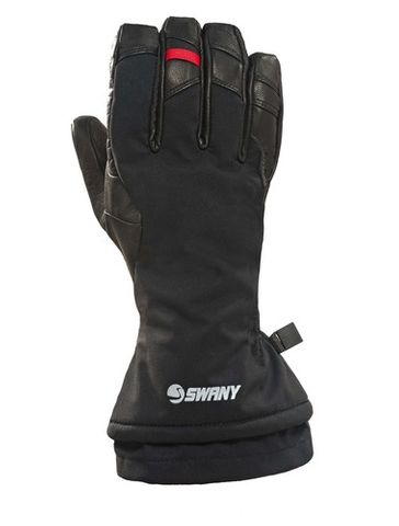 SWANY KORVETT MENS GLOVES - BLACK - SIZE S