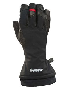 SWANY KORVETT MENS GLOVES - BLACK - SIZE L