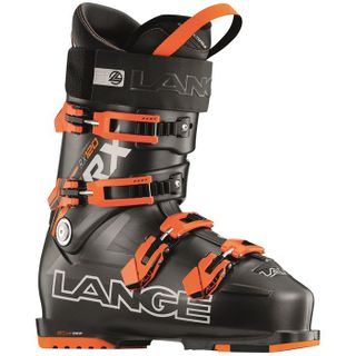 LANGE RX120 MENS SKI BOOTS - ANTHRACITE/ORANGE