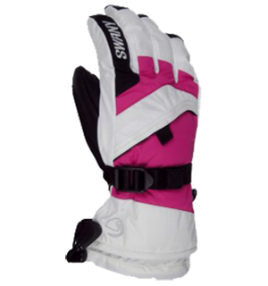 SWANY X-CHANGE JR KIDS GLOVES - WHITE/MAGENTA