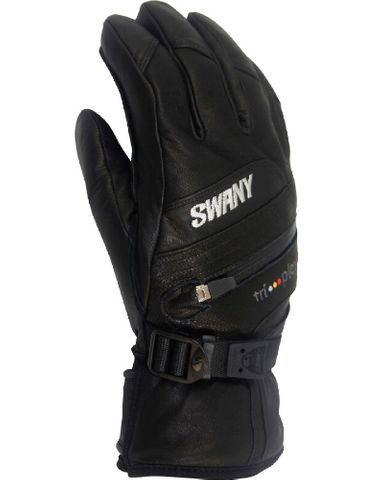 SWANY X-CLUSIVE MENS GLOVES - BLACK - SIZE S