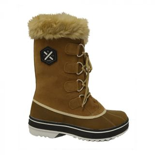 XTM JUNO WOMENS APRES BOOTS - BROWN - SIZE 42