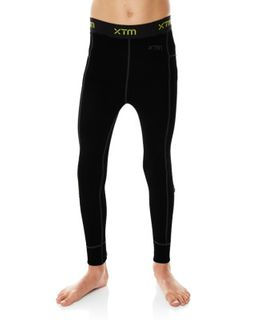 XTM MERINO KIDS PANTS - BLACK - 230 GRAMS