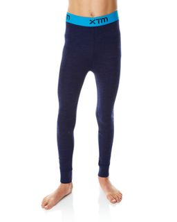 XTM MERINO KIDS PANTS - NAVY - 230 GRAMS