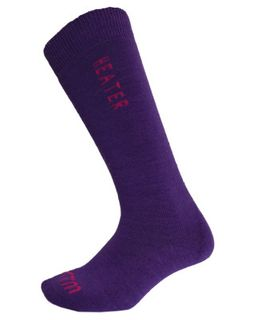 XTM HEATER KIDS SOCKS - PURPLE