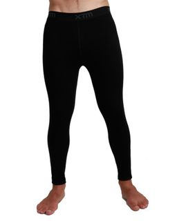 XTM MERINO MENS PANTS - BLACK - 230 GRAMS - SIZE XL