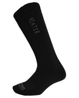 XTM HEATER ADULTS SOCKS - BLACK - SIZE 6-10