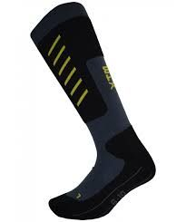 XTM HALF PIPE ADULTS SOCKS - BLACK - SIZE 6-10