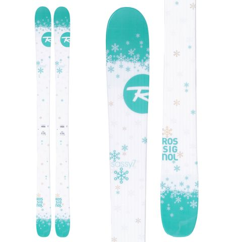 ROSSIGNOL SASSY 7 2016 WOMENS SKIS - SIZE 140cm