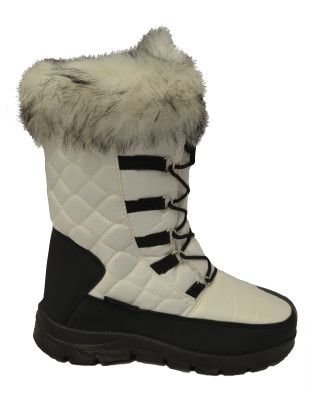 XTM INESSA WOMENS APRES BOOTS - WHITE - SIZE 37