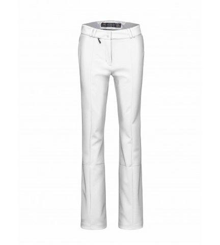 KJUS SLENDER SOFTSHELL WOMENS PANTS - WHITE - SIZE 42/XL