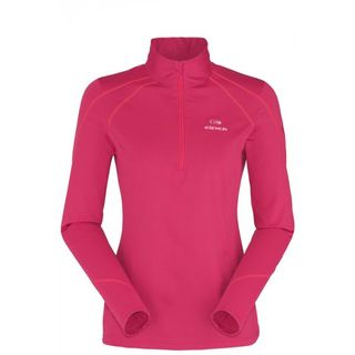 EIDER MONTANA WOMENS TOP - HOT CORAL