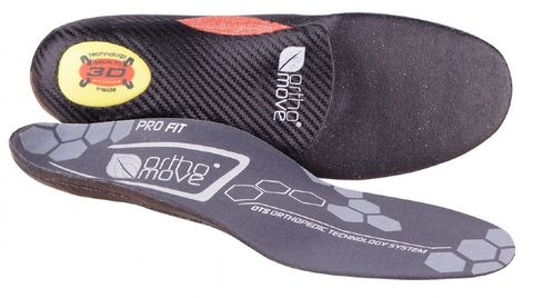ORTHOMOVE CARBON SPEED 3D CUSTOM SKI INSOLE - SIZE XS