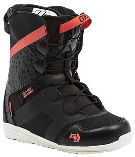 NORTHWAVE OPAL SL 2016 WOMENS SNOWBOARD BOOTS - BLACK - SIZE 26.5