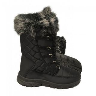 XTM INESSA WOMENS APRES BOOTS - BLACK - SIZE 37