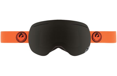 DRAGON X1S ADULTS GOGGLES - SAFETY WITH DARK SMOKE LENS AND YELLOW BLUE ION LENS AND ROSE LENS