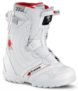 NORTHWAVE DAHLIA SL 2014 WOMENS SNOWBOARD BOOTS - WHITE - SIZE 24