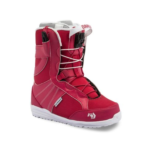 NORTHWAVE DAHLIA SL 2016 WOMENS SNOWBOARD BOOTS - RED - SIZE 26.5