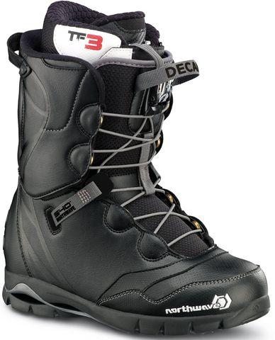 NORTHWAVE DECADE SL 2015 MENS SNOWBOARD BOOTS - BLACK - SIZE 29.5