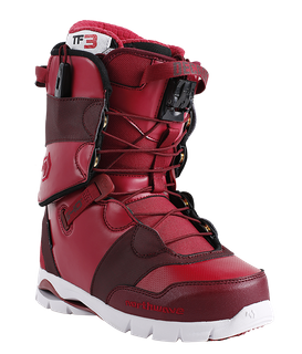 NORTHWAVE DECADE SL 2017 MENS SNOWBOARD BOOTS - PURPLE/RED - SIZE 27.5