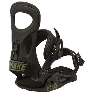 DRAKE KING 2016 MENS SNOWBOARD BINDINGS - BLACK/BLACK - SIZE XL