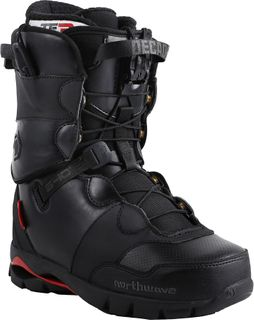 NORTHWAVE DECADE SL 2017 MENS SNOWBOARD BOOTS - BLACK